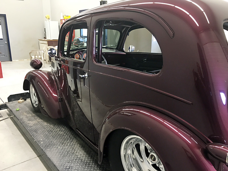 1948 Anglia Restoration - almost there - Randy Colyn Restorations