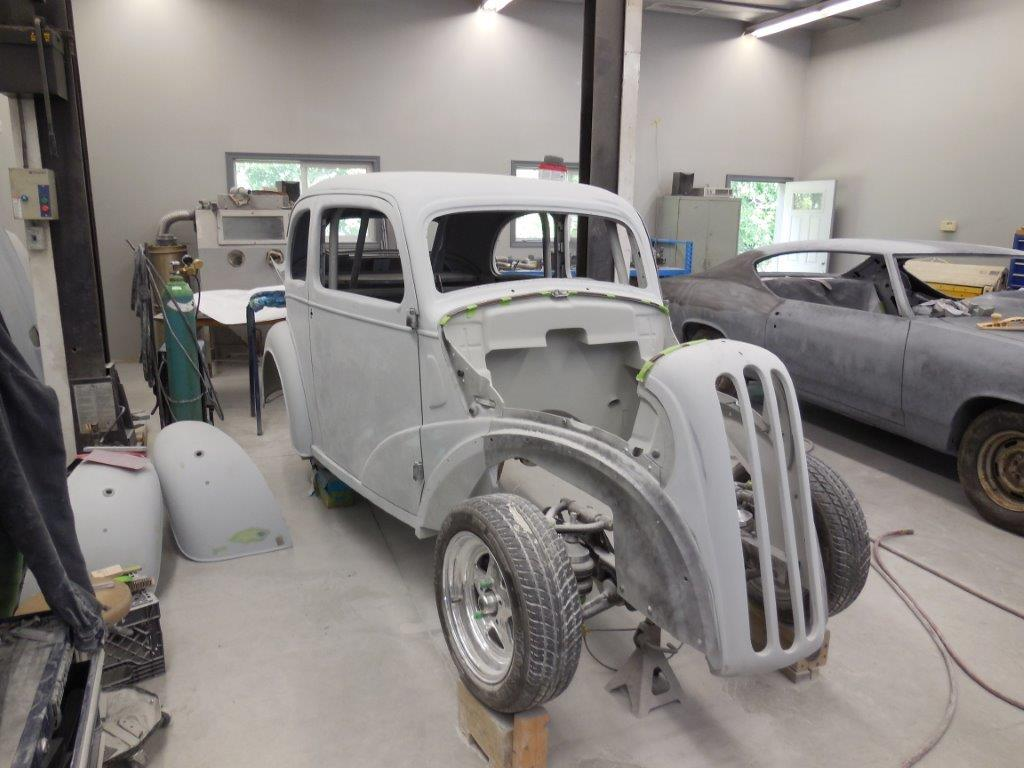 1948 Ford Anglia Ready For Final Primer Custom Car Build Pickup Hot Rod Start Building Your Dream Today