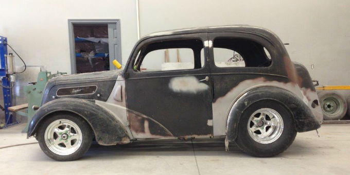 Update on Dave's 1948 Ford Anglia