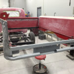 1951 Chevrolet truck restoration - custom tailgate build