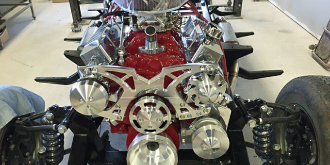 1951 Chevy Truck Engine