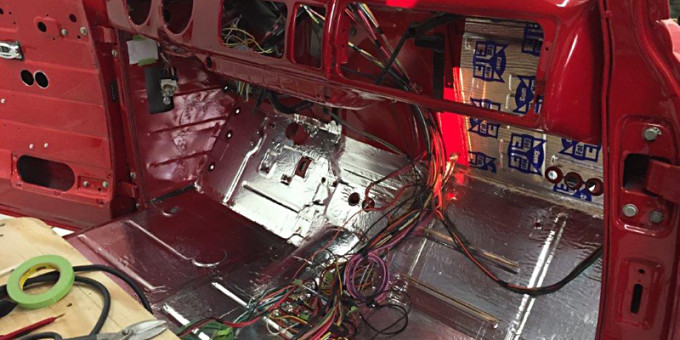 Chevy Truck Cabin Assembly