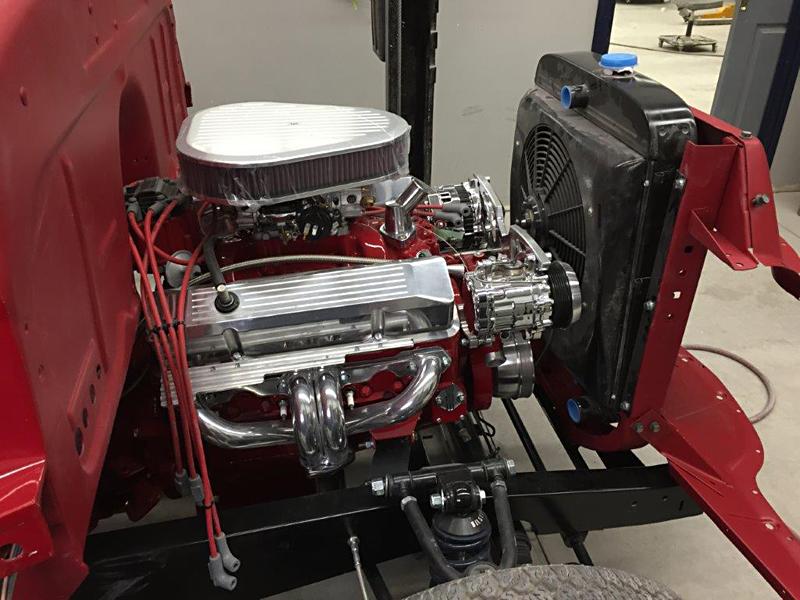 chevy truck engine restoration