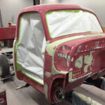 1951 Chevrolet truck body prep