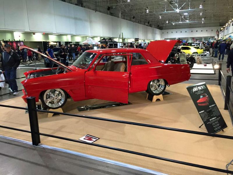 1966 Chevy Nova restoration