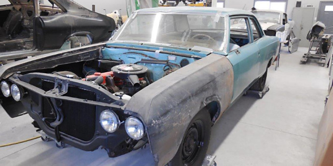 1967 Chevelle Restoration