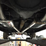 Exhaust installation on 1968 Pontiac Beaumont