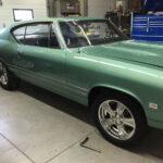 final stage of 1968 Pontiac Beaumont restoration
