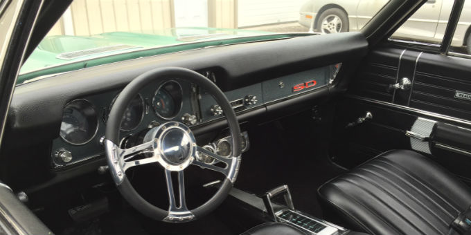 Dan's 1968 Pontiac Beaumont is fully restored