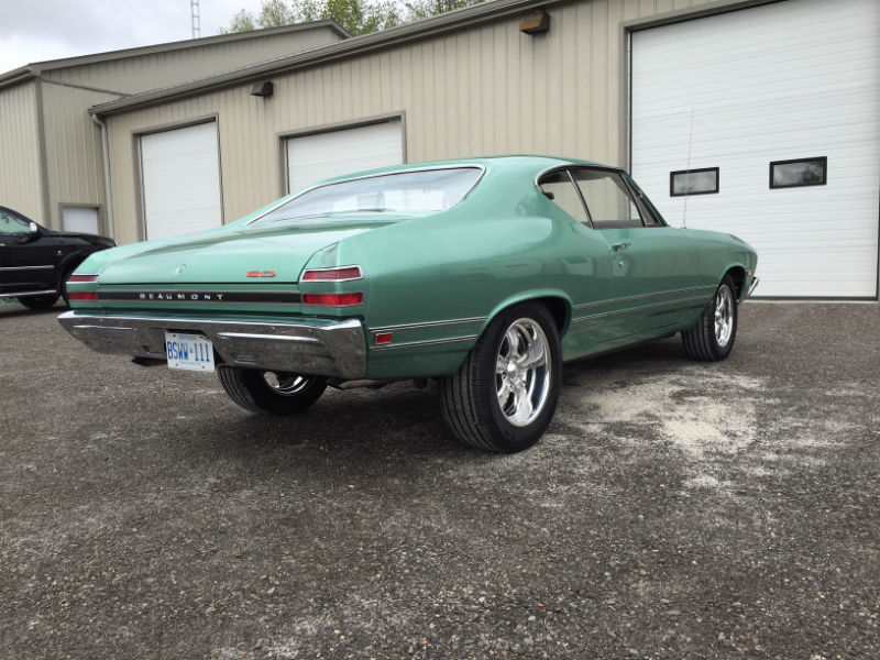 Classic Chevrolet Beaumont >> Dan's 1968 Pontiac Beaumont is ready for the road! - Randy Colyn Restorations
