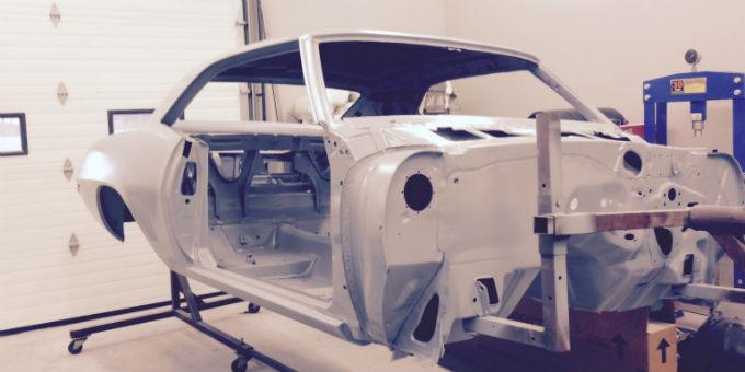 Thomas and Kim's 1969 Camaro Restoration