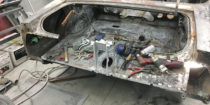 1971 Mustang restoration update