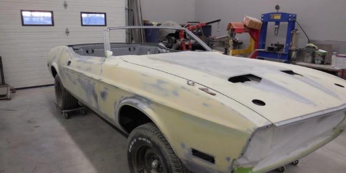1971 Mustang Body Work