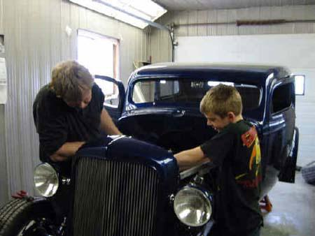 1935 Chevy Sedan - Randy Colyn Restorations and Hot Rod Shop