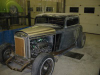 1932 Ford Coupe Restoration Randy Colyn Restoration Shop