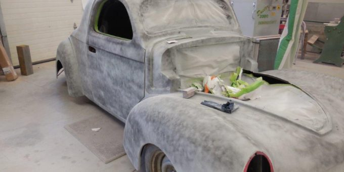 41 Willys Restoration Progress