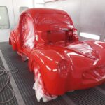 41 willys restoration - paint
