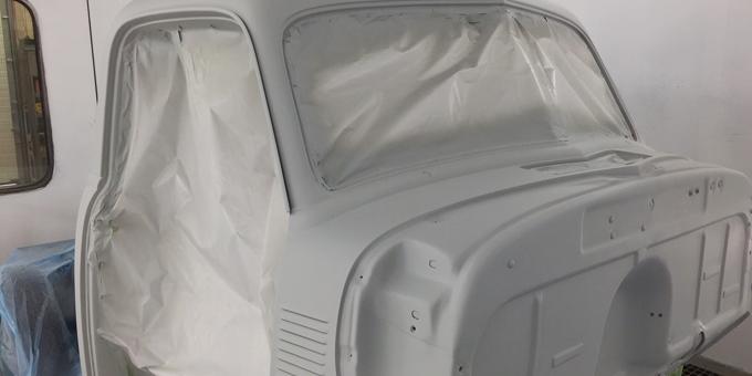 1951 Chevy Truck Paint Progress