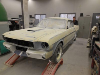 65 Mustang Progress – Body Work
