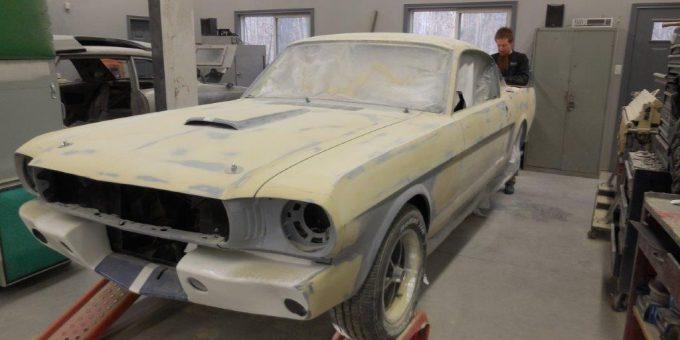 65 Mustang Progress – Body Work
