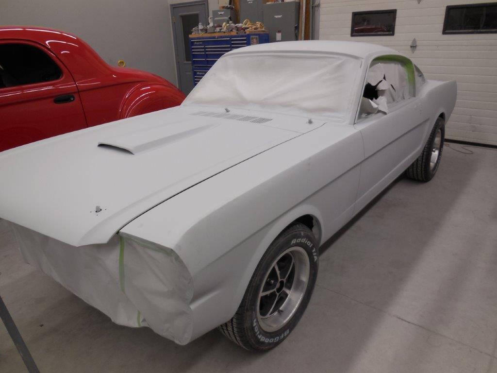 2017 White Corvette >> Getting ready for high build primer - Randy Colyn Restorations
