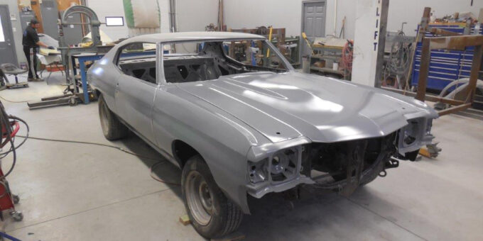 1972 Chevelle – Cleaned and Expoxy Done