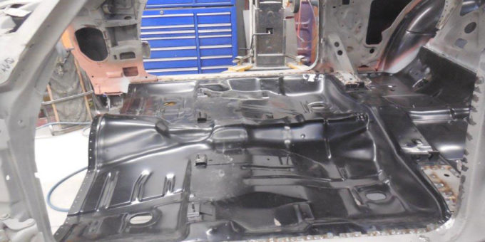 1972 Chevelle – Floor and Firewall Welded In