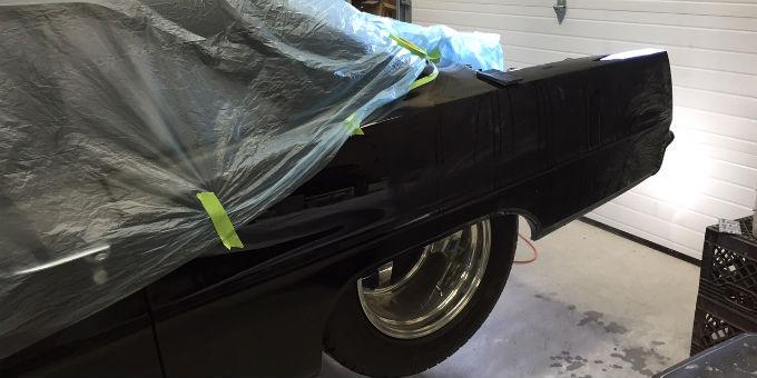 The Chevy Nova all fixed up