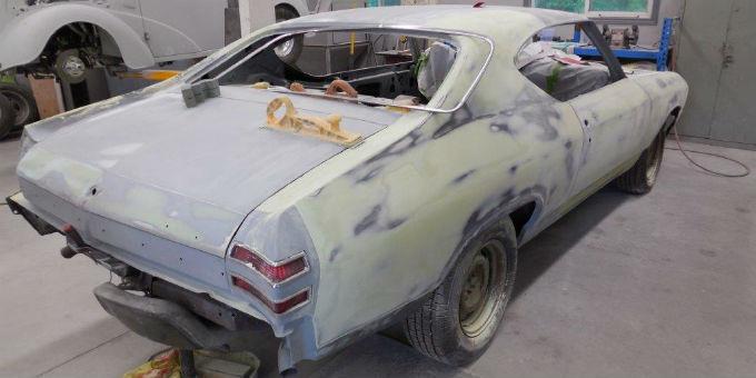Body Work on Dan's 1968 Pontiac Beaumont