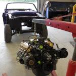 1965 Ford Mustang Restoration - Motor installation