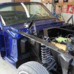 1965 Ford Mustang Restoration - Powertrain Installation