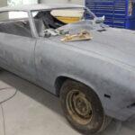 Pontiac Beaumont Restoration - Body work