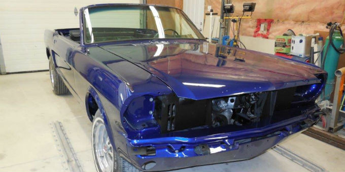Tony's 1965 Ford Mustang Restoration Project Completion