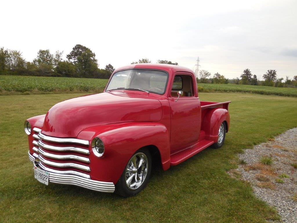 1951 Chevy Truck Randy Colyn Restorations Chevrolet Pickup Dscn0253