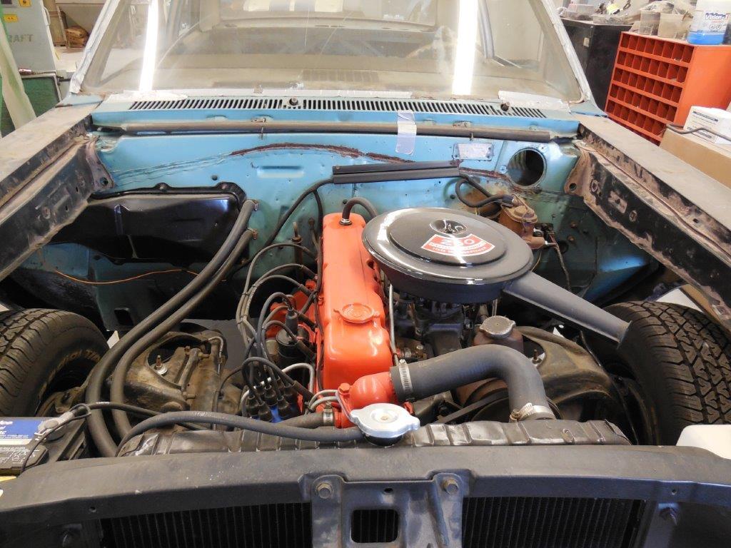 1967 Chevelle Engine