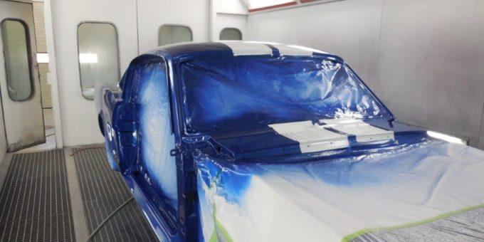 65 Mustang Painting in Progress