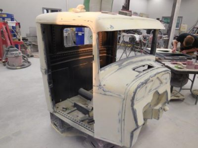 32 Ford Pickup Body Work and Primer