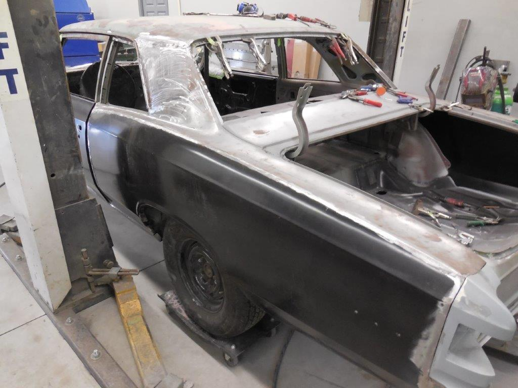 67 Chevelle Frame and Body Work - Randy Colyn Restorations
