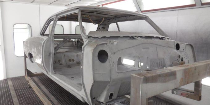 67 Chevelle Frame and Body Work