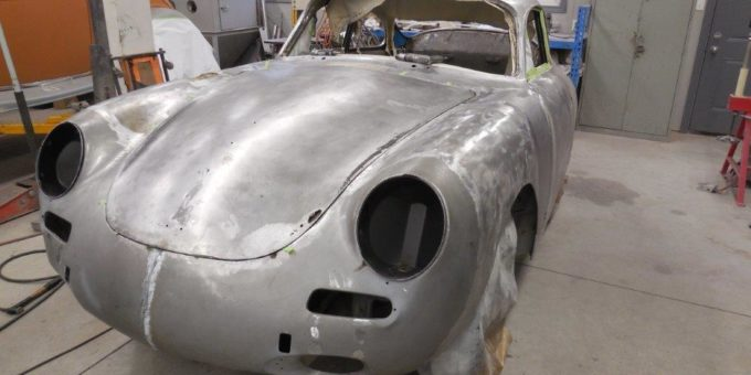 Metal Work on the Porsche