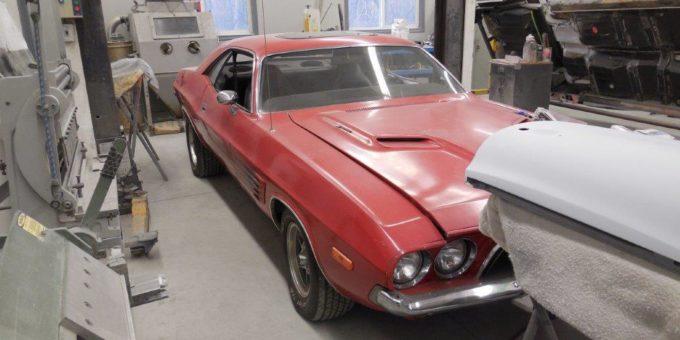 Complete Restoration of a 74 Challenger