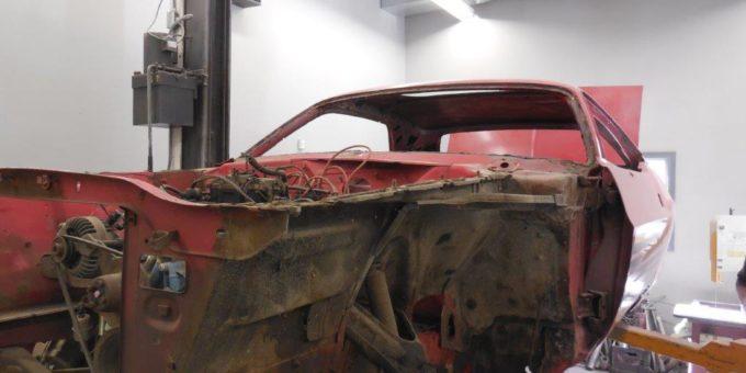 Beginning Restoration of 74 Challenger
