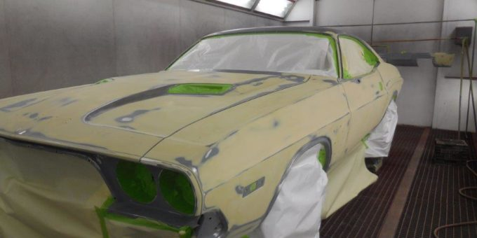 Priming the 74 Challenger