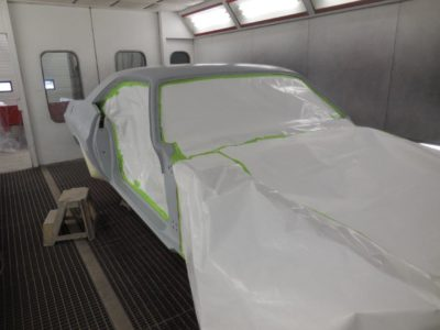 Challenger Ready for Paint