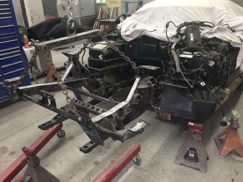 Dodge Viper Frame - Randy Colyn Restorations