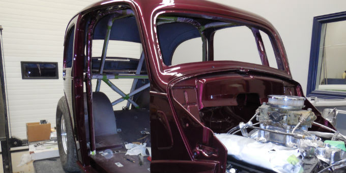 Dave's 1948 Ford Anglia update