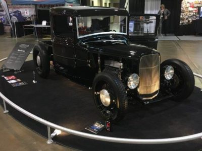 32 Ford Pickup at Autorama