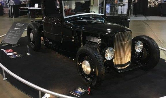 32 Ford Pickup at Autorama