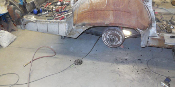 1960 Mercury Parklane – 1/4 Panel