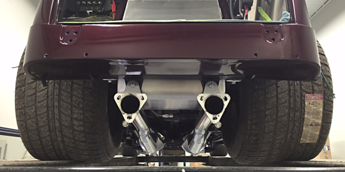 Ford Anglia Custom Build – Exhaust